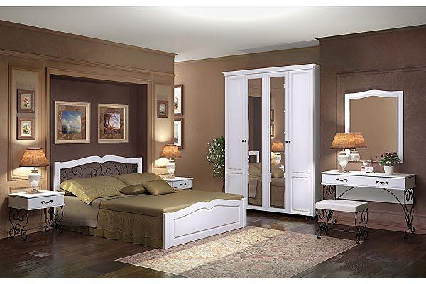 Спальня Ижмебель Лукреция компоновка 1