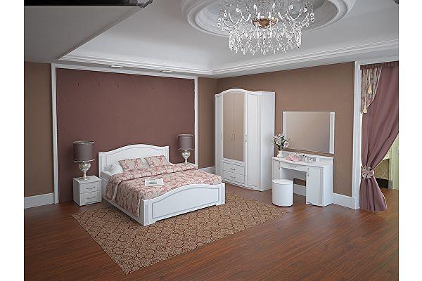 Готовая спальня Ижмебель Виктория компоновка 3