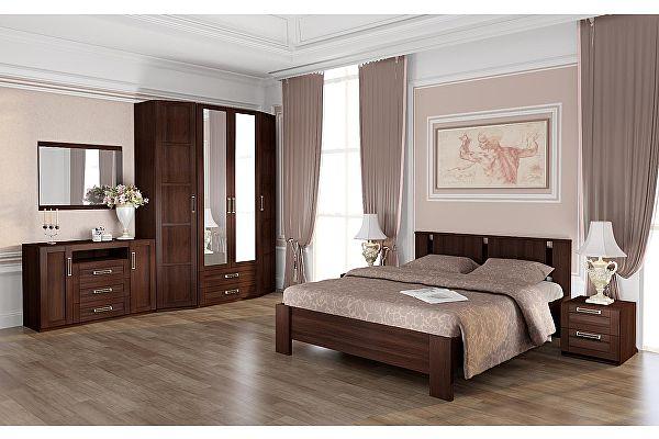 Спальня Ижмебель Скандинавия компоновка 1