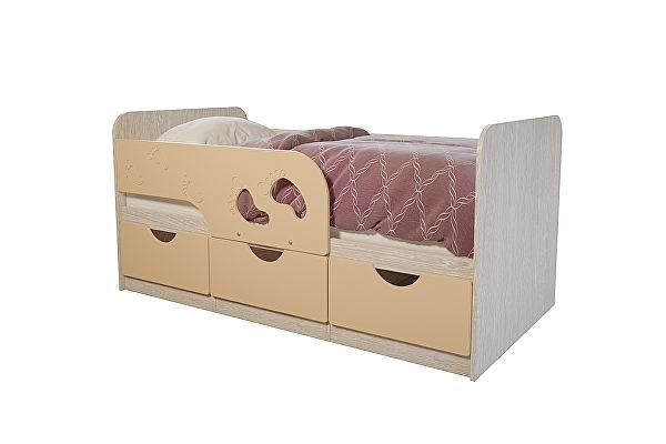 Кровать детская BTS Минима Лего, крем-брюле