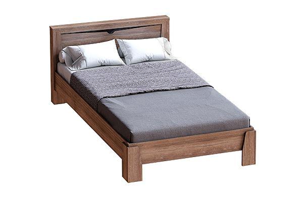 Кровать МебельГрад Соренто на 1200 Дуб Стирглинг
