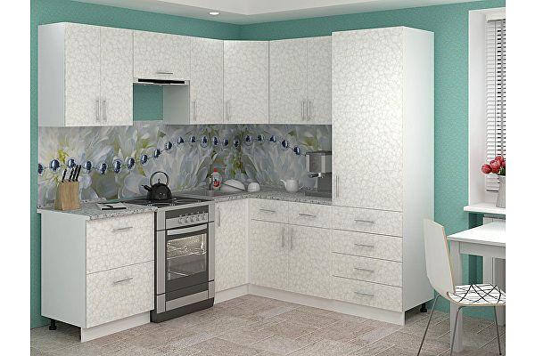 Кухня Баронс Групп Лира-8.1 Ширина 2200 мм / 1900 мм