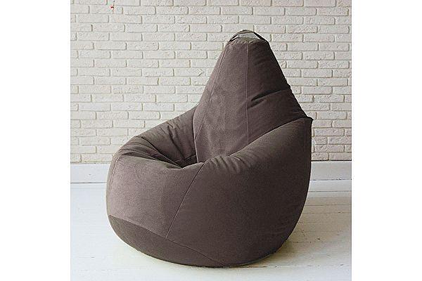 Кресло груша Декор Базар Спайк, XXL (горький шоколад)