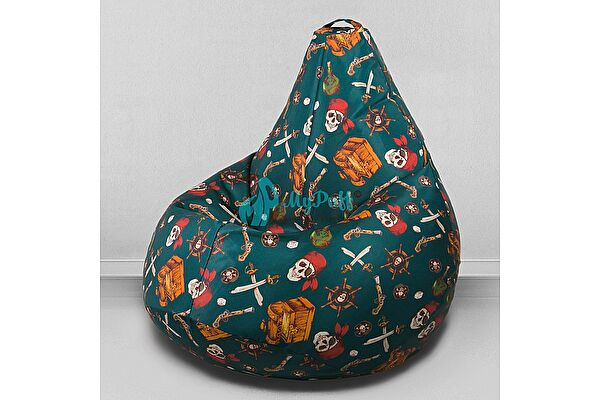 Кресло мешок груша Декор Базар Пираты (компакт)