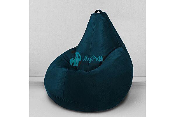 Кресло мешок груша Декор Базар Тори морская глубина (комфорт)