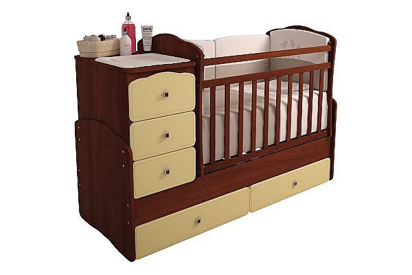 Кроватка для новорожденных-трансформер Фея 2150
