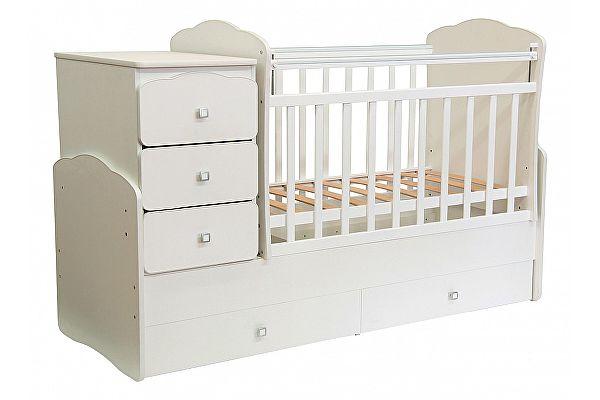 Кроватка для новорожденных-трансформер Фея 2100