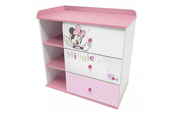 Тумба комбинированная Polini kids Disney baby с 3 ящиками