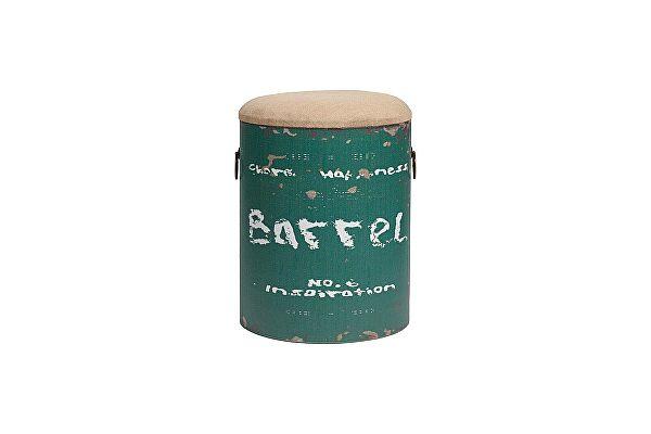Столик-табурет DG-Home Barrel Green