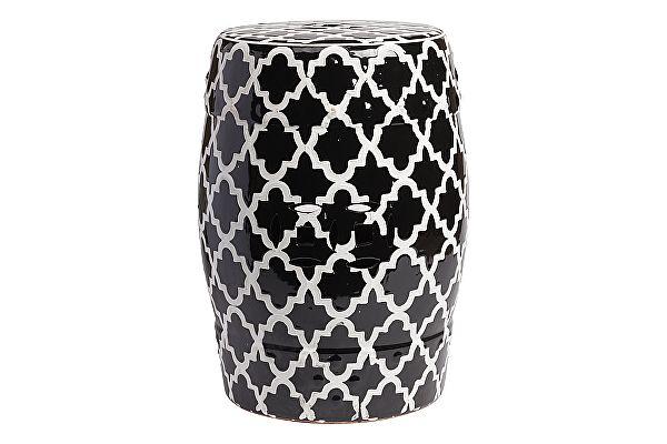 Керамический столик-табуретDG-Home  Istanbul Stool Black