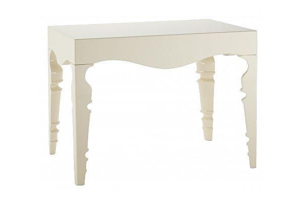Прикроватный стол DG-Home Paloma Белый Лак