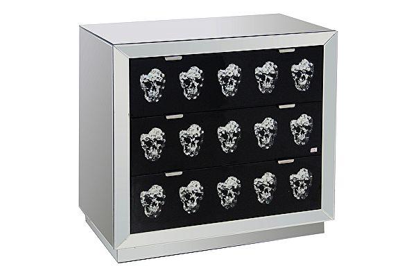 Зеркальный комод DG-Home Safe с ящиками