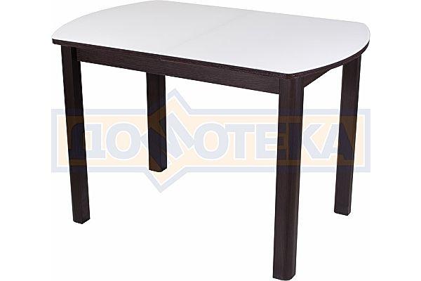 Стол со стеклом Домотека Танго ПО ВН ст-БЛ 04 ВН ,венге