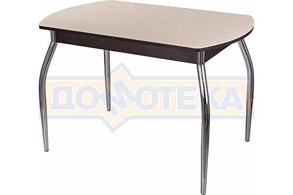 Стеклянный обеденный стол — Домотека Танго ПО-1 ВН ст-КР 01 ,венге