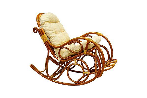 Кресло-качалка ЭкоДизайн 05/11 К с подножкой
