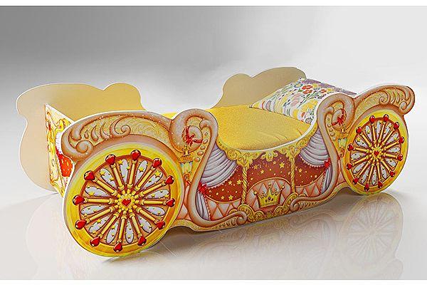 Кровать Фанки Кидз Карета мини, арт 20014