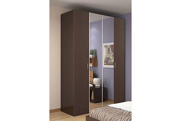Шкаф-гармошка для одежды и белья 555 Глазов Hyper (венге)