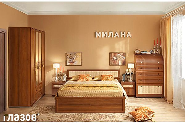 Спальня Глазов Милана 1