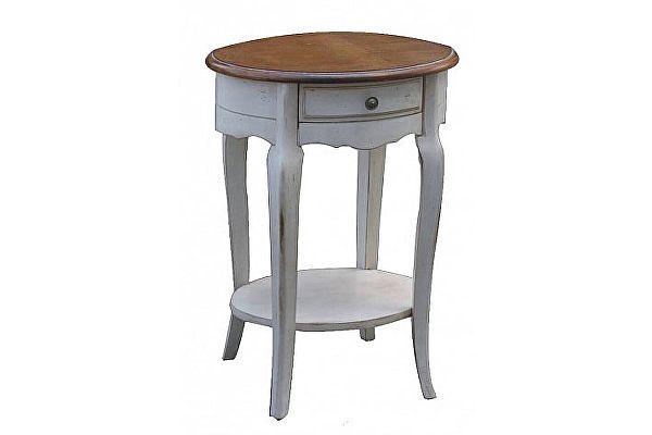 Столик приставной Belveder Blanc bonbon, ST9331