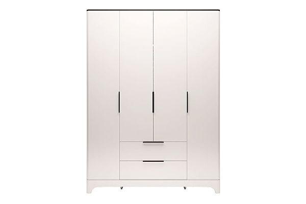 Шкаф Ижмебель Танго 4х дверный с ящиком без зеркала, арт.02