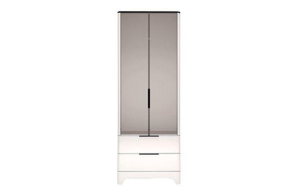 Шкаф Ижмебель Танго 2х дверный для одежды с ящиками (с зеркалом), арт.09