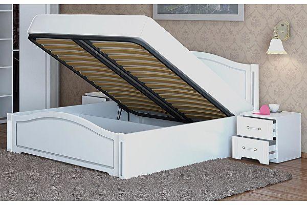 Кровать 160 с подъемным механизмом Ижмебель Виктория, арт.05