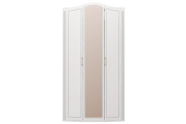 Шкаф 3х дверный для одежды с зеркалами Ижмебель Виктория, арт.09
