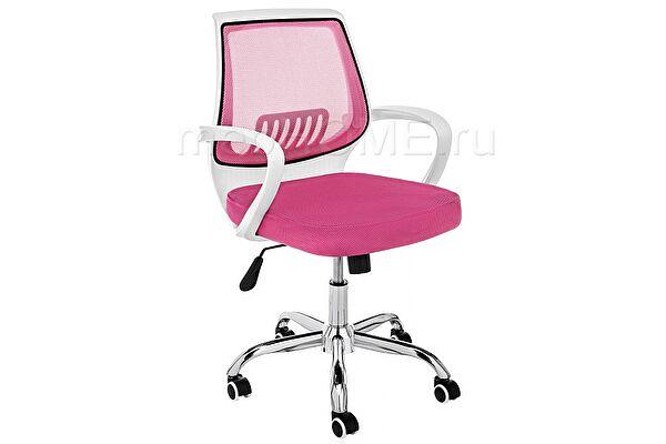 Компьютерное кресло Woodville Ergoplus белое / розовое