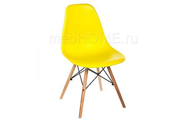 Стул пластиковый Woodville Eames PC-015 yellow