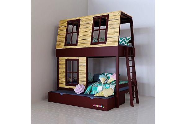 Кровать-домик Мамка Дом мечтателя