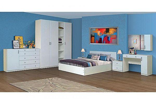Спальный гарнитур Аджио Карина 12