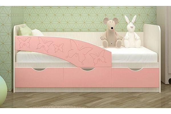 Детская кровать Московский Дом Мебели Бабочки 80/160