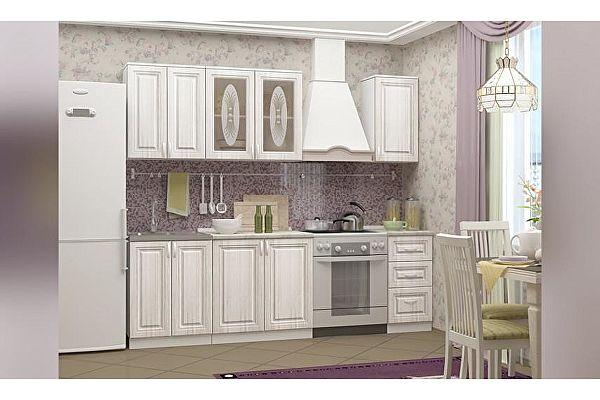 Кухня Миф Констанция, сандал, МДФ 1800