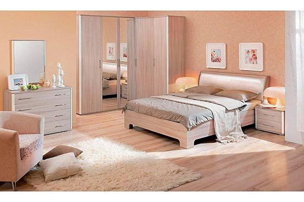 Модульная спальня Кураж Сорренто Композиция 2
