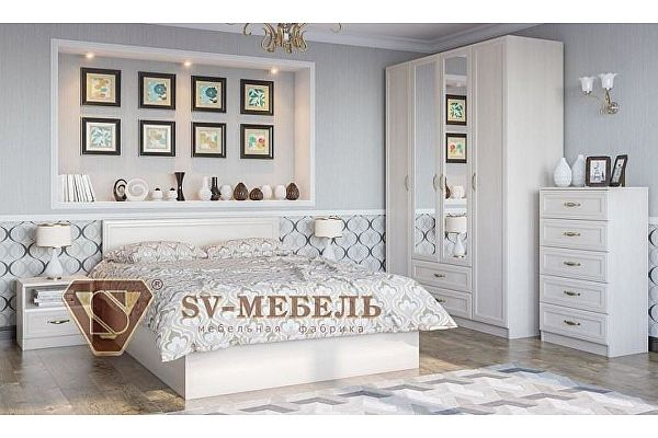 Модульная спальня SV-мебель Вега