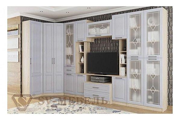 Модульная гостиная SV-мебель Прованс-1