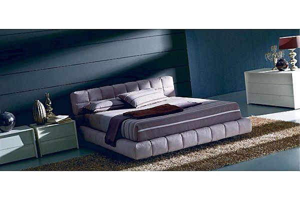 Кровать M-City APOLLO (3261) 180x200 (TC001 Айвори, ткань кат.С) без ящика