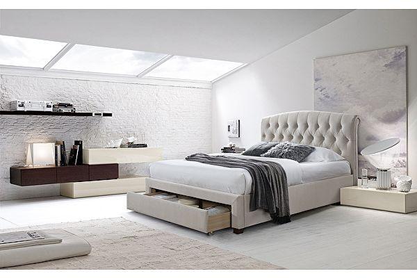 Кровать M-City SWEET NATALIA 160х200 Champagne 7 с ящиком