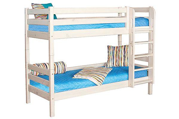 Кровать МебельГрад Соня 2х ярусная с прямой лестницей, вариант 9