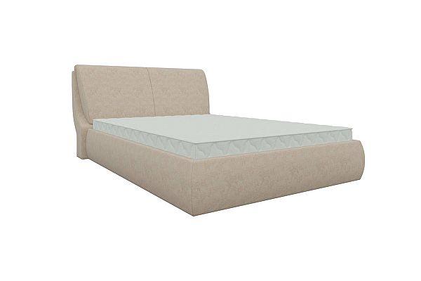 Интерьерная кровать Мебелико Принцесса микровельвет