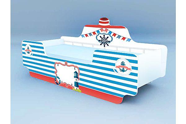 Кровать Кораблик 6