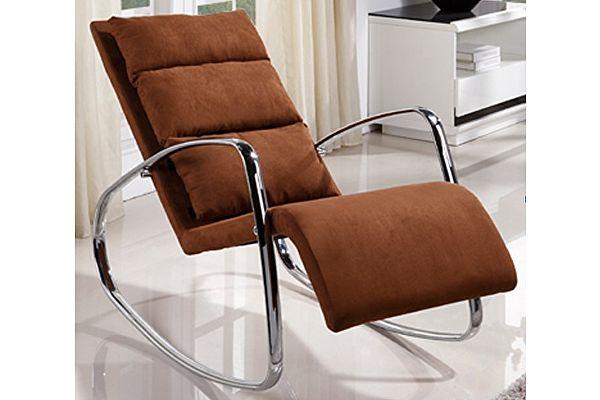 Кресло-качалка МИК MK-5509-BR Коричневый