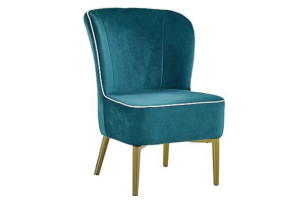 Кресло МИК Мебель MK-5643-DB Темно-бирюзовый