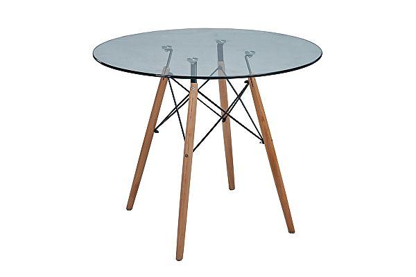 Стол обеденный МИК Мебель MK-7013-GL Прозрачный