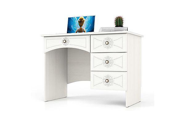 Стол письменный Мебельный двор Онега МД-1-06 однотумбовый с 4 ящиками
