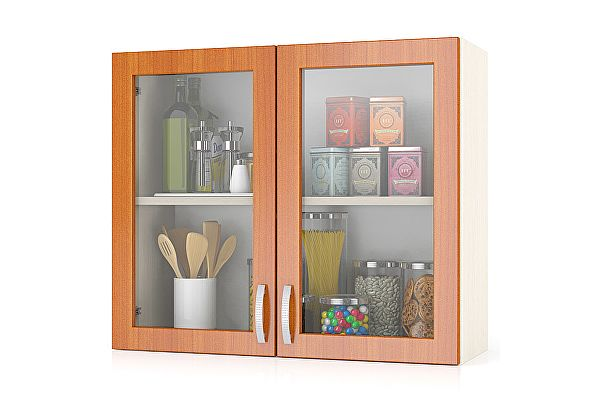 Шкаф-витрина Мебельный двор Мери ШВС800 80 см
