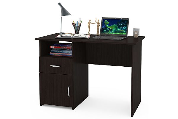 Маленький компьютерный стол Mobi Комфорт 11 СК