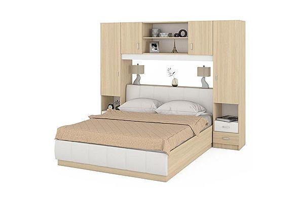 Комплект Mobi Линда кровать 1600 314+313-160+301-160+303-160+314