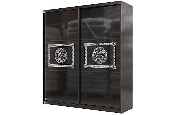 Шкаф-купе Мэри-Мебель Мэри Премиум 2000 2-х дверный № 11 (стекло лакобель с фотопечатью)