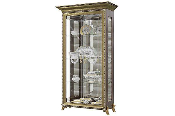 Шкаф Мэри-Мебель Версаль ГВ-02 2-дверный (без короны)